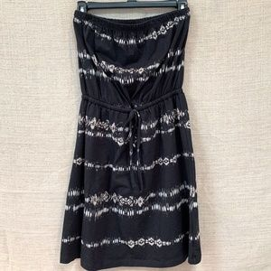 Mossimo Strapless Dress/Cover Up